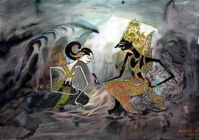 (07) Kresna menasihati Harjuna   mahabharata Blog
