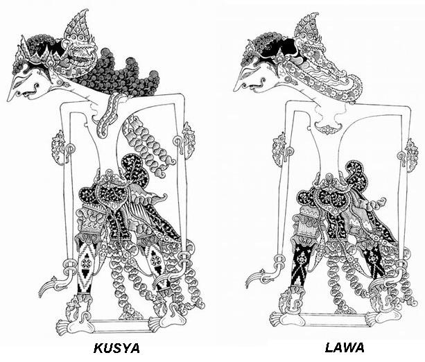 Lawa Kusya Wayang Indonesia