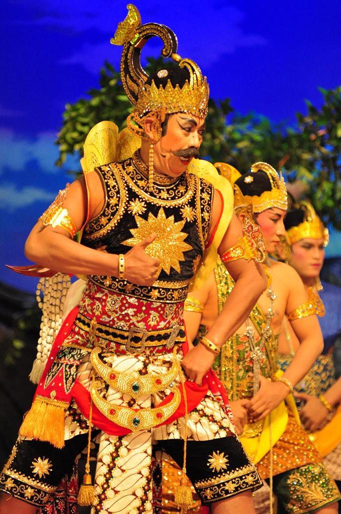 Raden Gatotkaca Wayang Indonesia