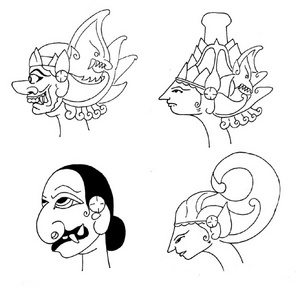 Facial And Gesture Expressions In The Wayang Performance Wayang Indonesia