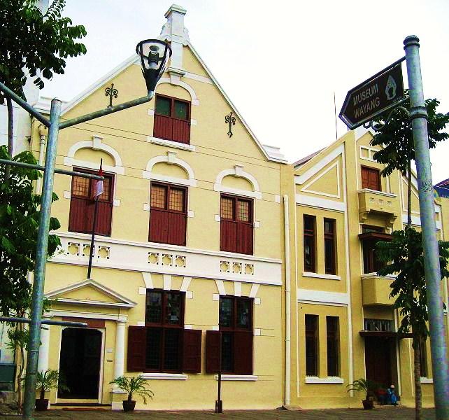 Penampakan Museum Wayang