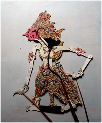 Prabu Baladewa, wayang kulit purwa buatan Kaligesing, koleksi Tembi Rumah Budaya