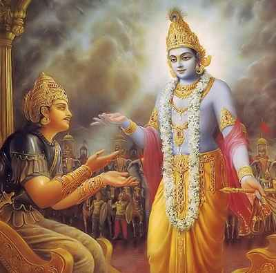 lord krishna's quote to arjuna and